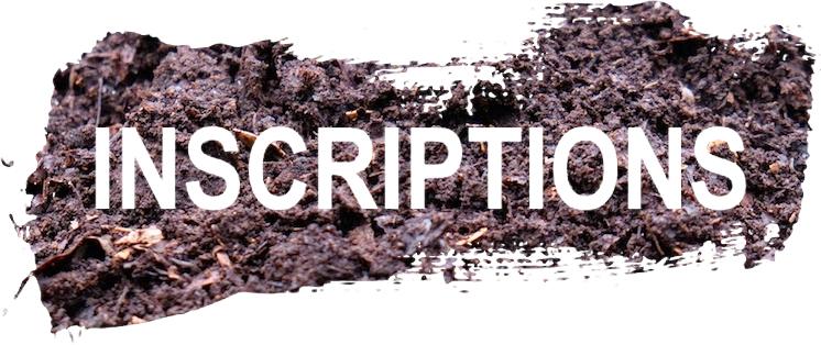 Inscriptions CUMA COMPOST 71